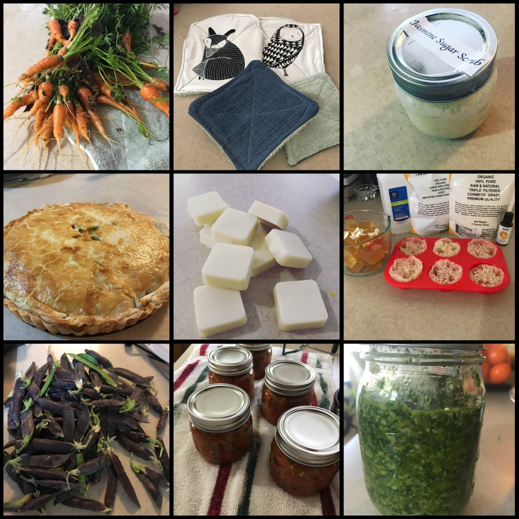 My first year homesteading! Learning to be more home made and from scratch has been a pleasure!