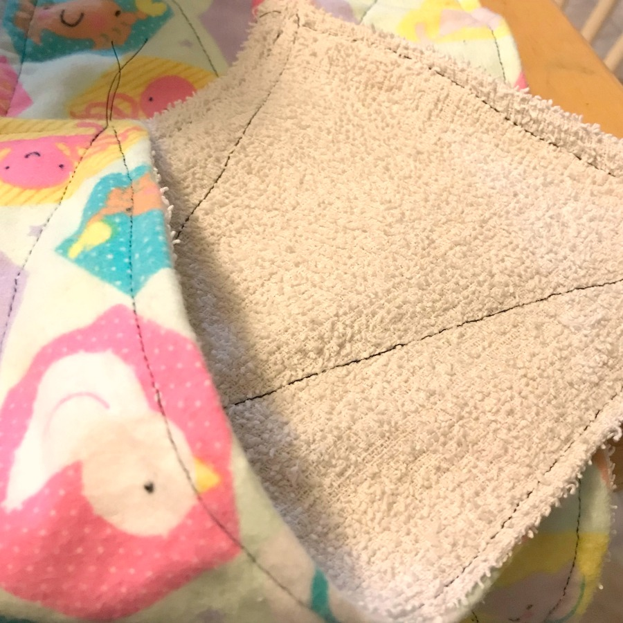 Easy unpaper towels that only take 5 minutes to make.
