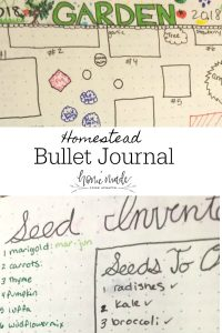 Learn how to use a bullet journal to customize and organize your homestead activities