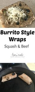 Learn how to make delicious burrito style wraps that are great for the family and easy to eat.