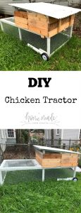 Learn how to build your own chicken tractor or mobile chicken coop