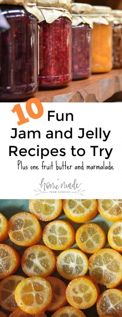10 great jam and jelly recipes to try preserving your harvest.