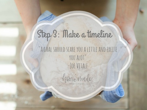 Step 3 in managing your time on the homestead. Learn how to get it done!