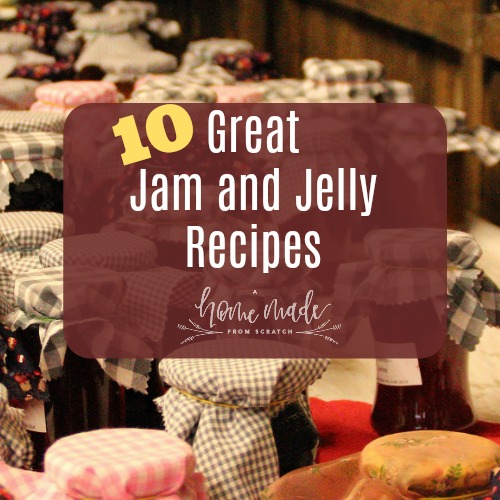 Make some great jam and jelly recipes.