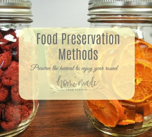 Learn five methods to preserve your harvest to enjoy your garden all year long.