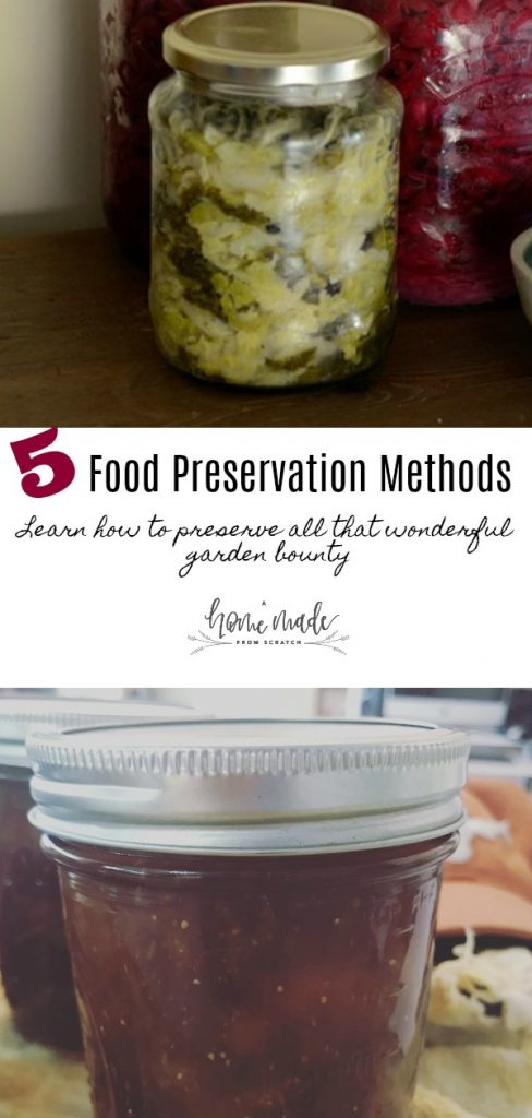 Food preservations to use for all your garden bounty. Enjoy the fruits of your labor all year long!
