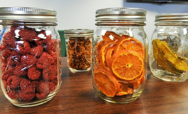dehydrated fruits and veggies are an excellent way to preserve food
