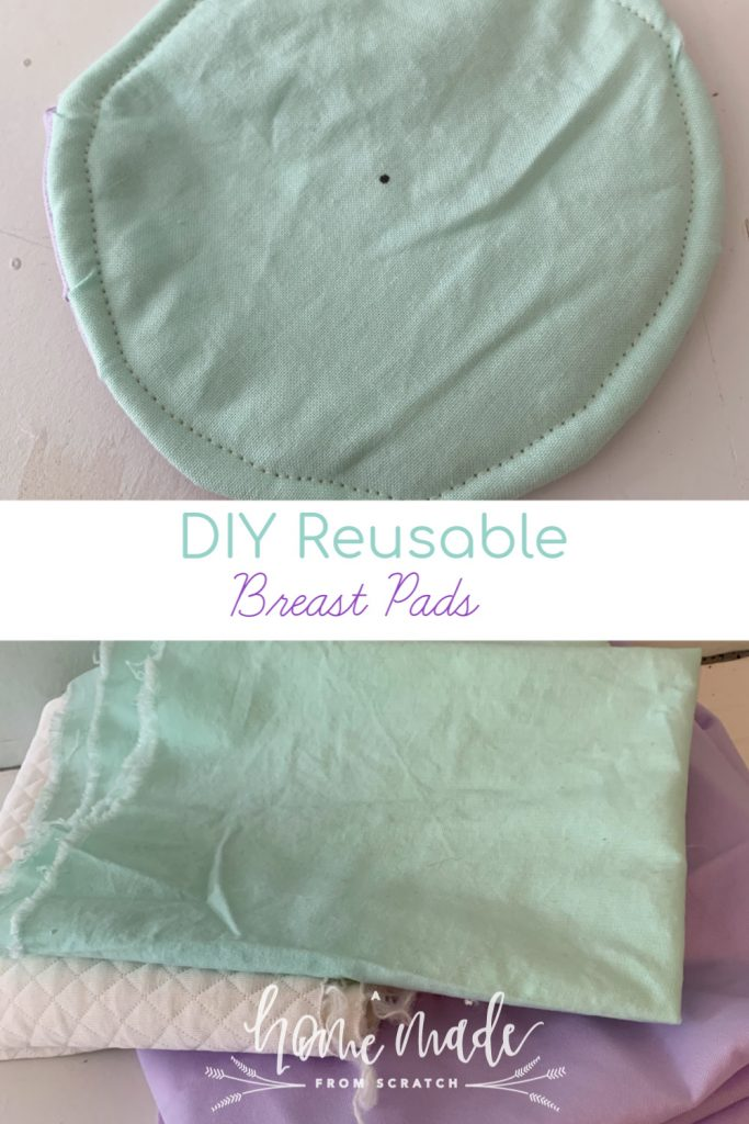 Learn how easy it is to make your own washable and reusable breast pads in only 30 minutes