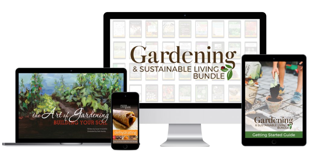 gardening and sustainability bundle